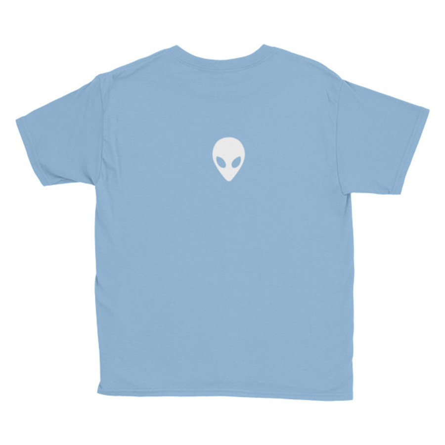Youth Lunasurf Alien Grey Short Sleeve T-Shirt