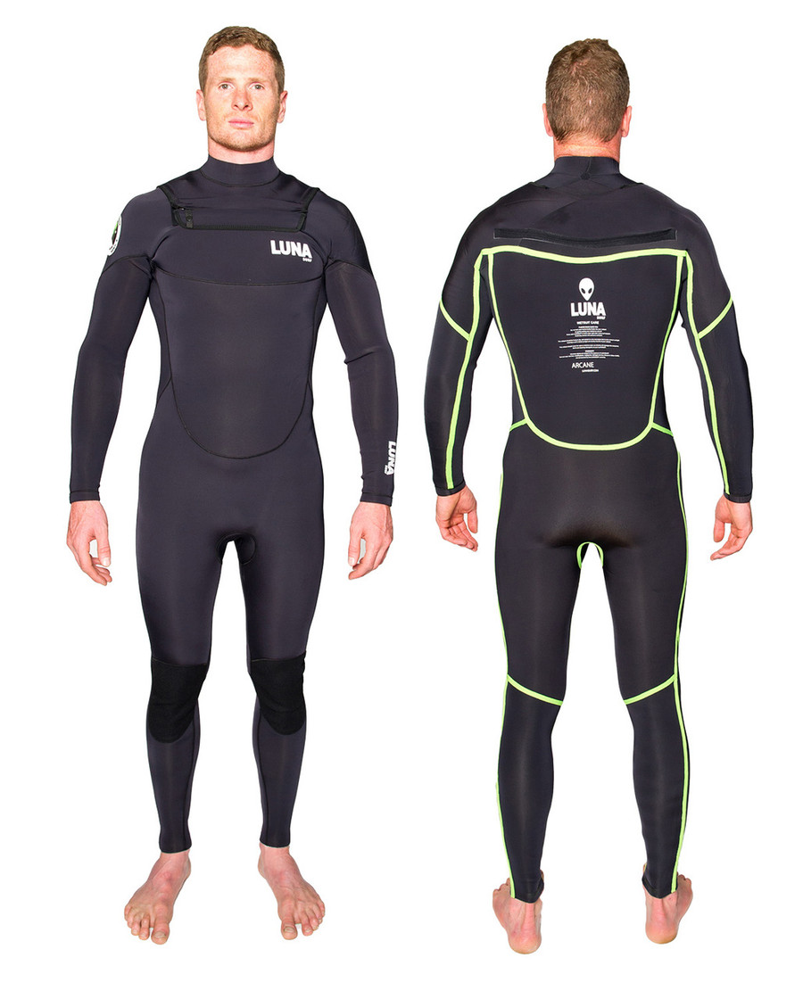 Lunasurf 4.3mm mens wetsuit