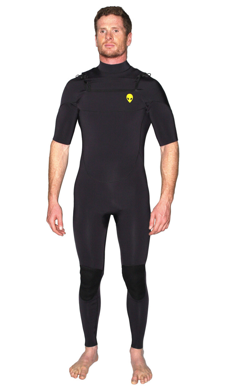 2mm short arm wetsuit lunasurf yamamoto