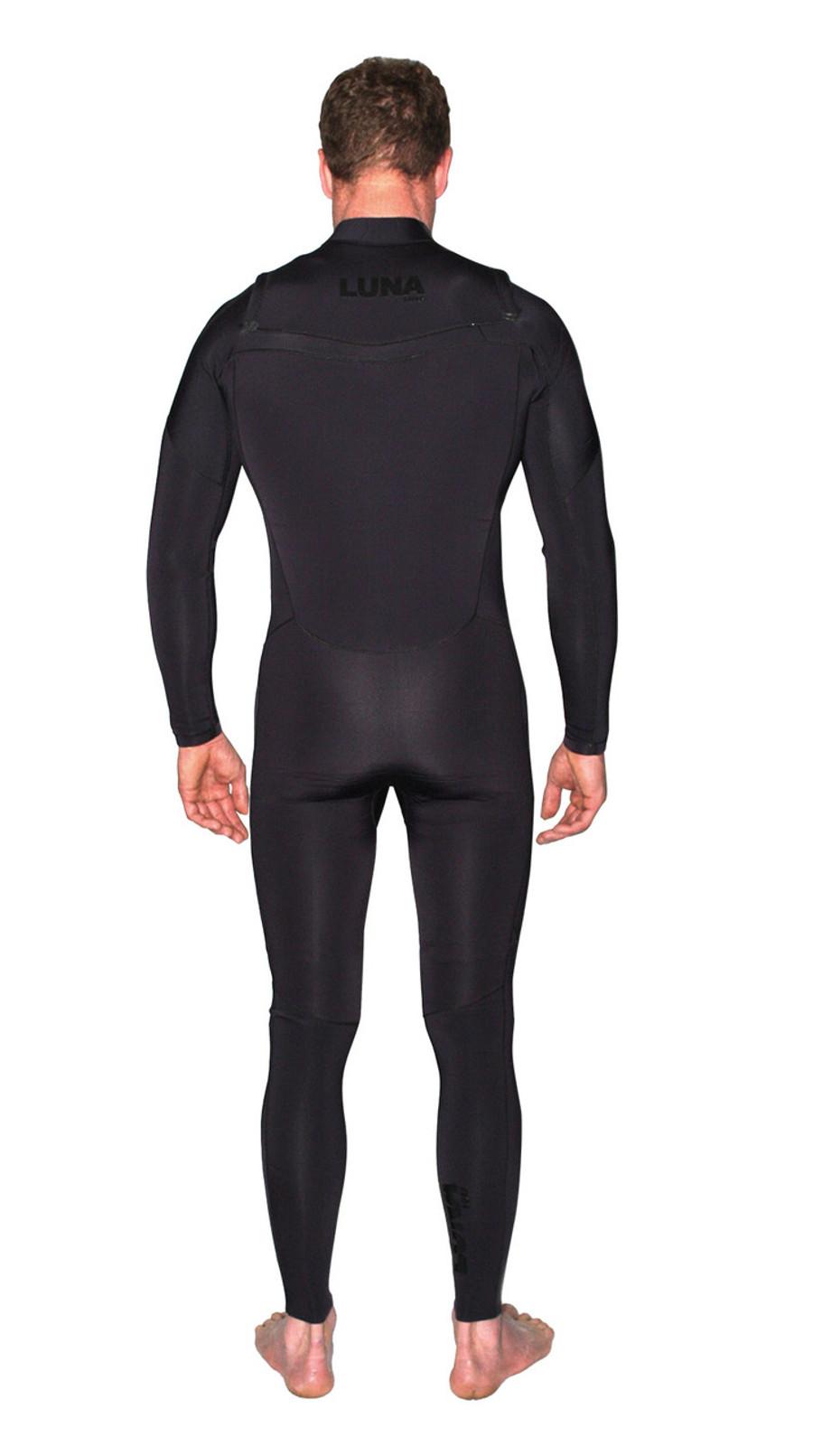 mens 3.2mm wetsuit black stealth