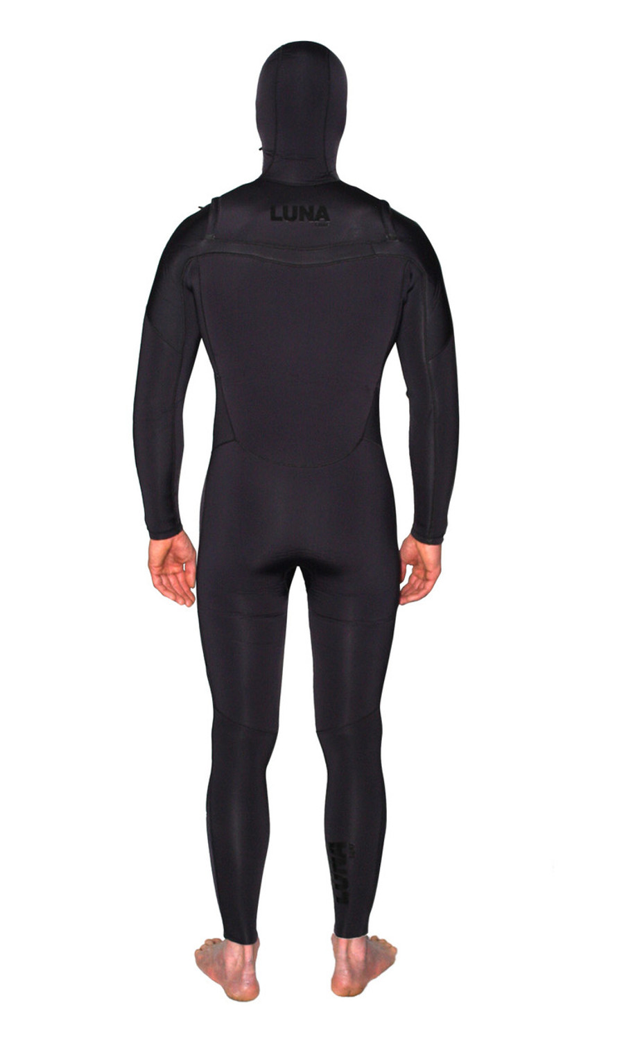 6.4mm hooded wetsuit stealth