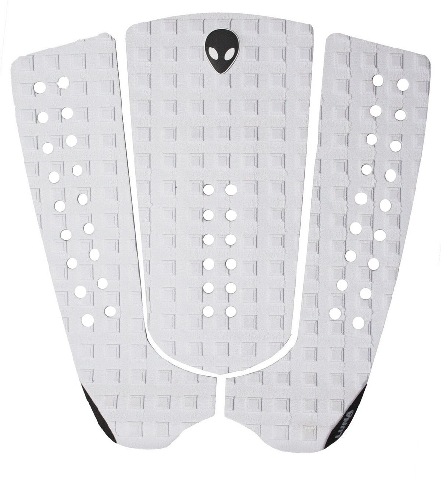 white surf tail pad