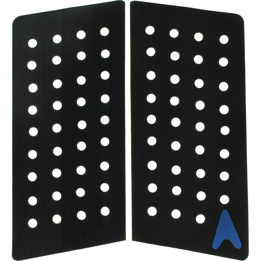 ASTRODECK 410 GF 2 Piece Front Foot Traction Pad Black