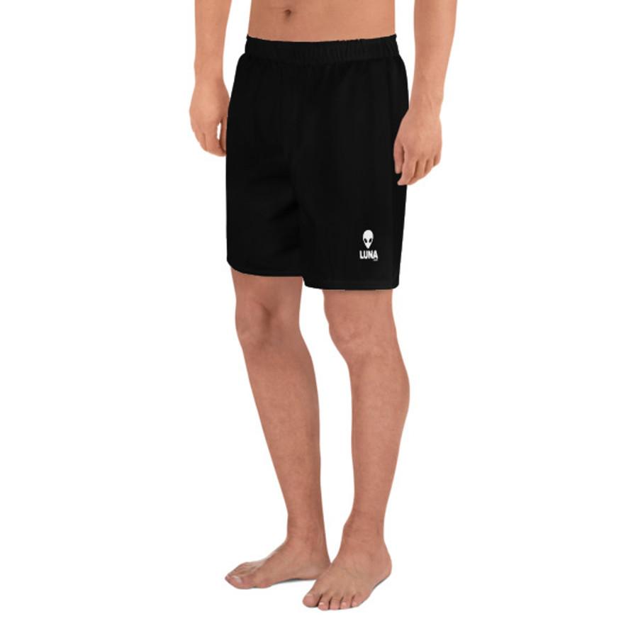 Lunasurf Men's Black Logo Shorts