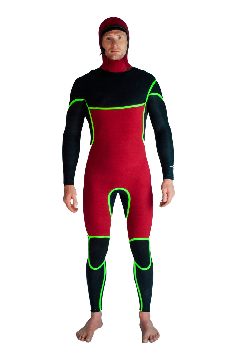 Lunasurf mens winter wetsuit 4mm