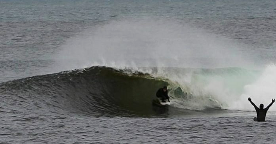 Cold water surf wetsuit for girls Pheobe Strachan.