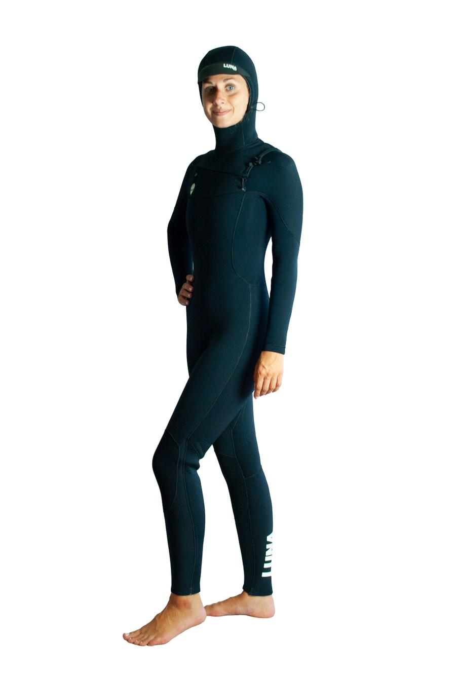 Womens slant zip winter wetsuit