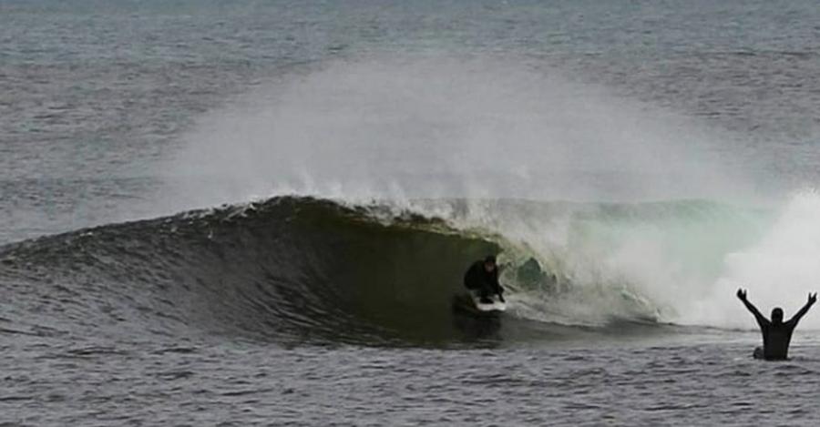 Phoebe Strachan ladies cold water wetsuit Scotland,