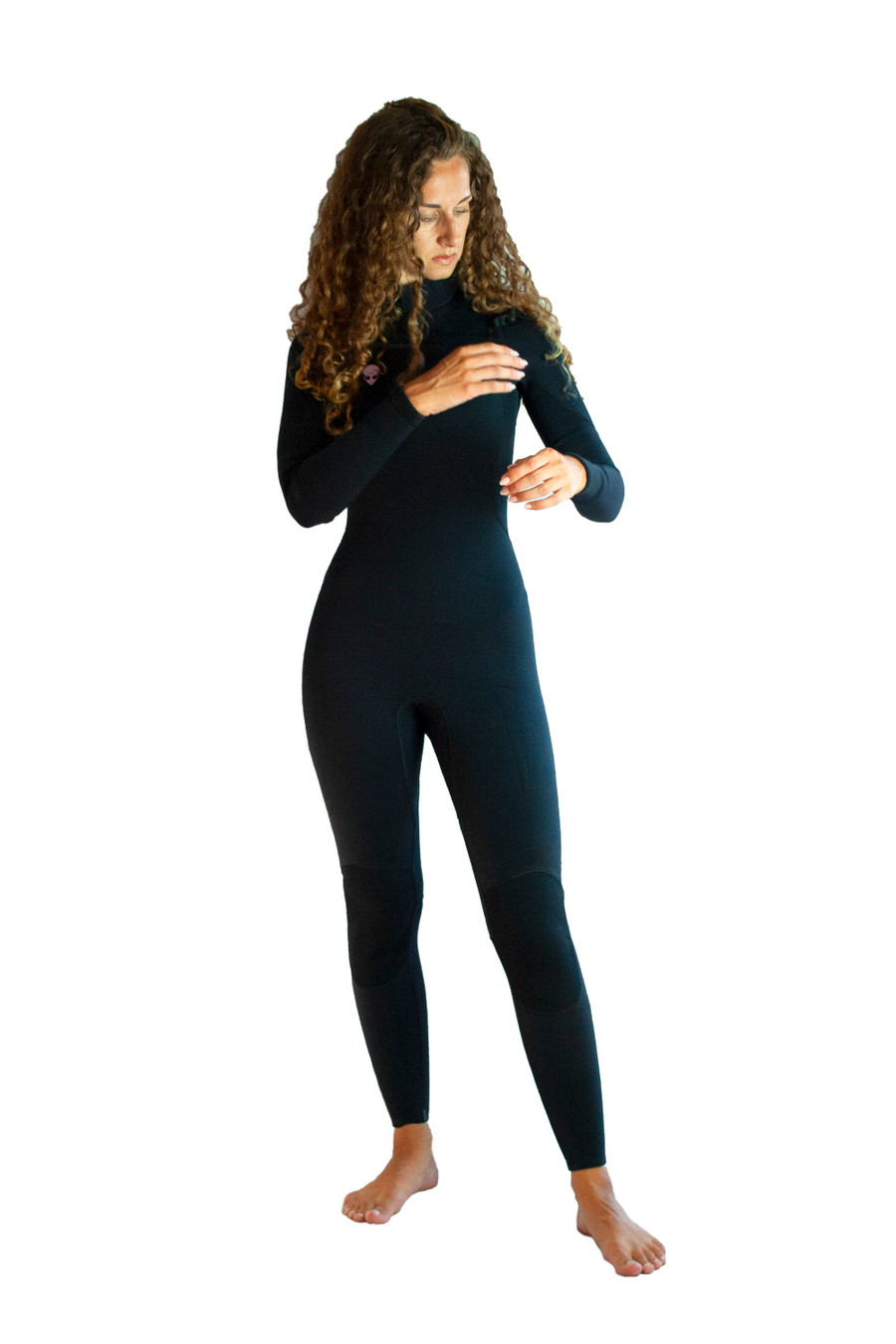 Slant zip womens wetsuit