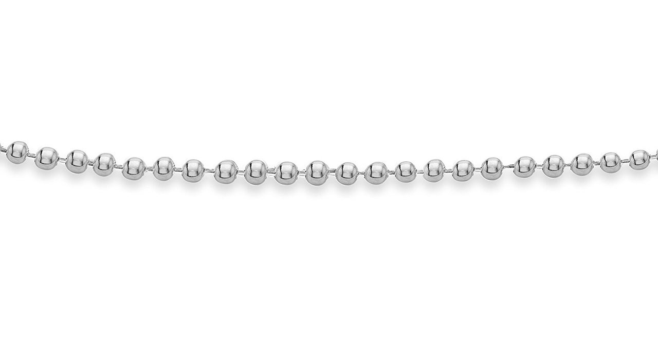 ... Women s 925 Sterling Silver Ball Chain Charm Anklet 9d792e8f5