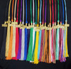 "Graduation Tassel 16"" long with 9.5"" Tassel and 6.5"" Loop. Includes Gold* Charm Clip and Year"