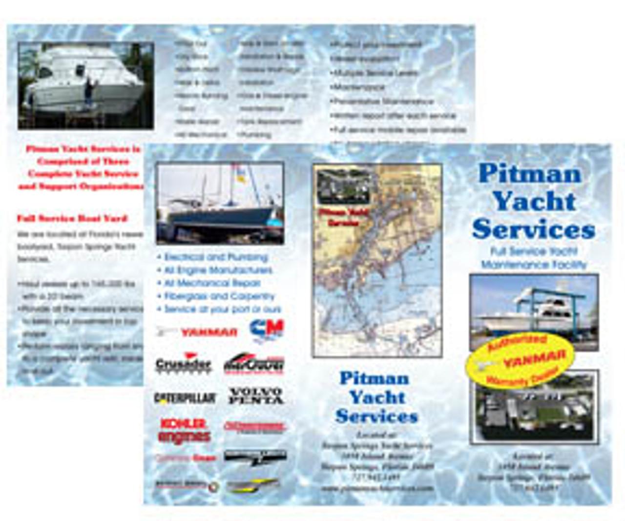 "BFC811   8.5"" x 11"" Full Color Brochures"