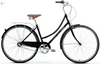 Linus | Dutchi 3i | Ladies Urban City Bike | Black