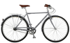 Manhattan Cruisers | Green 3 Mens | Urban City Bike | Matte Silver