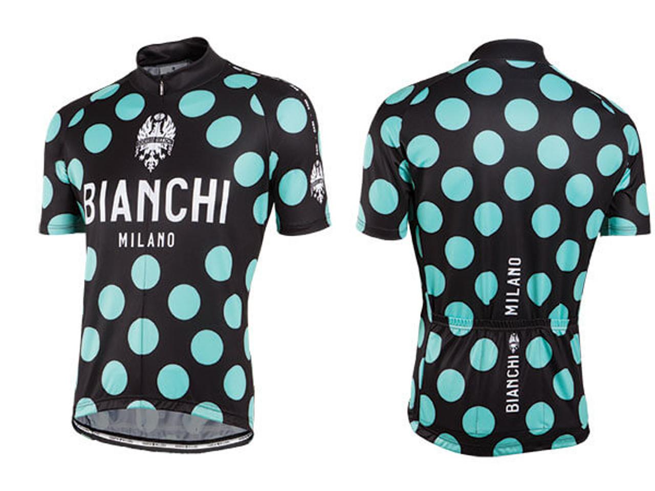 Nalini Bianchi Bianchi Pride Maillot /à Manches Courtes Homme