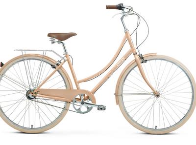 Linus | Dutchi 3i | Ladies Urban City Bike | Blush