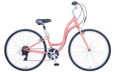 KHS   Brentwood Ladies    Urban City Bike   Coral