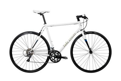 Pure Cycles   Flat Bar Road Bike   Ray   White