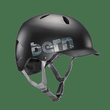 Bern   Summer Bandito   Boys Helmet   2019   Black - Matte Black Camo Logo