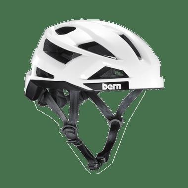Bern   FL-1 Pave   Adult Helmet   2019   White - Gloss White