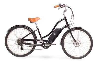 Tuesday   August Live! LS (E-bike)   Womens Electric Cruiser Bike   2019   Black