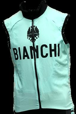 Bianchi | Team Wind Vest | Apparel | Celeste