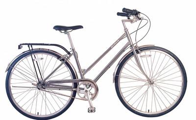Biria | Citi Classic ST i3 | Urban City Bike | Nickel Silver | Sale