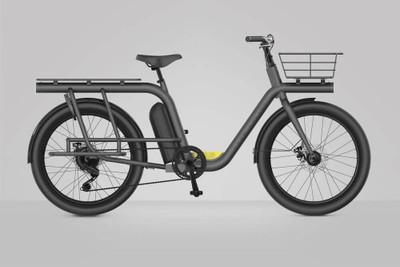 Pure Cycles | Capacita | Electric Cargo Bike | Black
