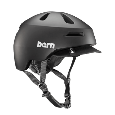Bern   Brentwood 2.0   Adult Helmet   2019   Black - Matte Black