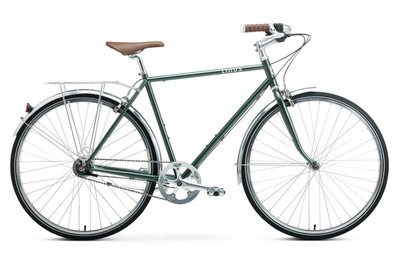 Linus | Roadster 7i | Urban City Bike | Matte Sea Green