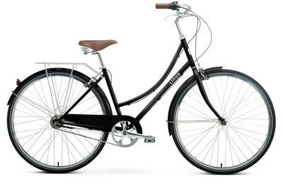 Linus | Dutchi 7i | Ladies Urban City Bike | Black