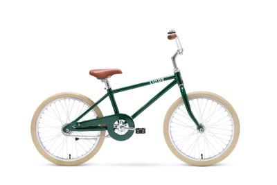 "Linus | Lil Roadster 20"" |  Kids Bike | Racing Green w/ Cream Tires"