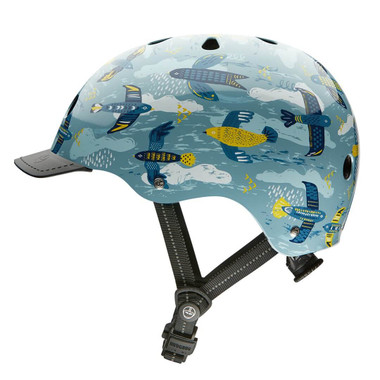 Nutcase Helmets | Feathered Friends | Adult Street Helmet | 2019
