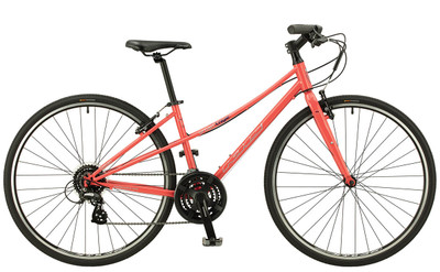 KHS | Urban Xcape Ladies | Urban City Bike | Coral