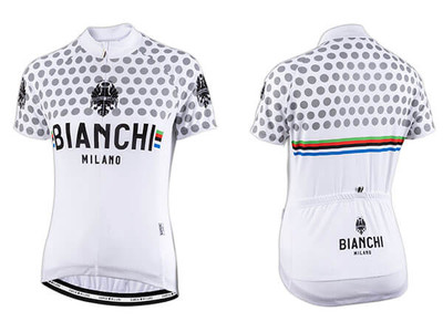 Bianchi Milano by Nalini | Crosia Lady Short sleeve Jersey | 2019 | White
