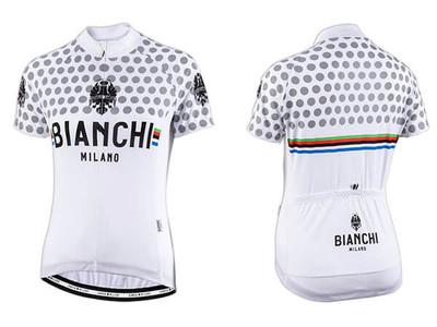 Bianchi Milano by Nalini   Crosia Lady Short sleeve Jersey   White