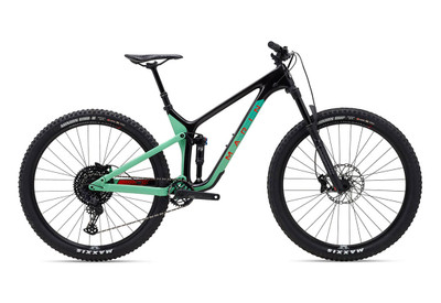 Marin | Rift Zone Carbon 1 | Mountain Bike | 2020 | Gloss Carbon/Teal/Red