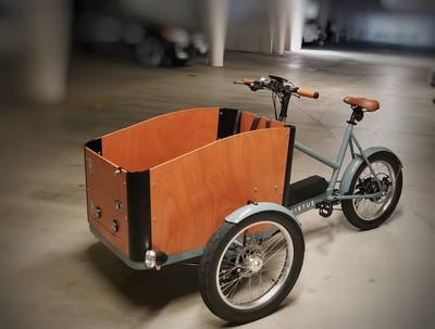 Virtue Electric   Pedalbox+ Cargo Box Bike   Grey