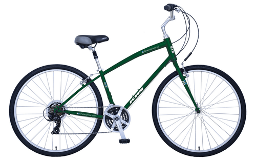 KHS | Brentwood | Urban City Bike | Matte Green