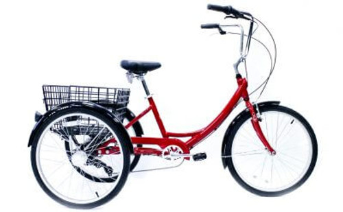 Manhattan Cruisers | Manhattan Trike | Specialty Bike | Alloy | Red