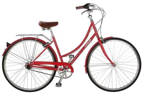 Linus | Dutchi 3i | Ladies Urban City Bike | Scarlet Red