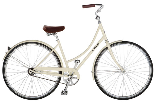 Linus | Dutchi 1 | Ladies Urban City Bike | Cream