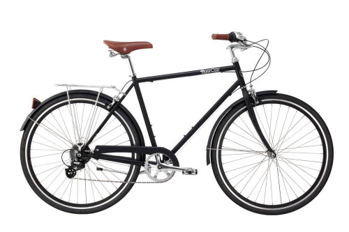 Pure Cycles | Pure City | Classic Bike 8 Speed  | Urban City Bike | Bourbon