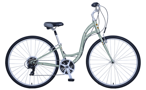 KHS | Brentwood Ladies  | Urban City Bike | 2019 | Stone Green