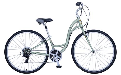 KHS | Brentwood Ladies  | Urban City Bike | Stone Green