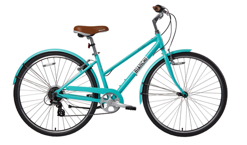 Bianchi | Milano Dama | Ladies Urban City Bike | Celeste 2021