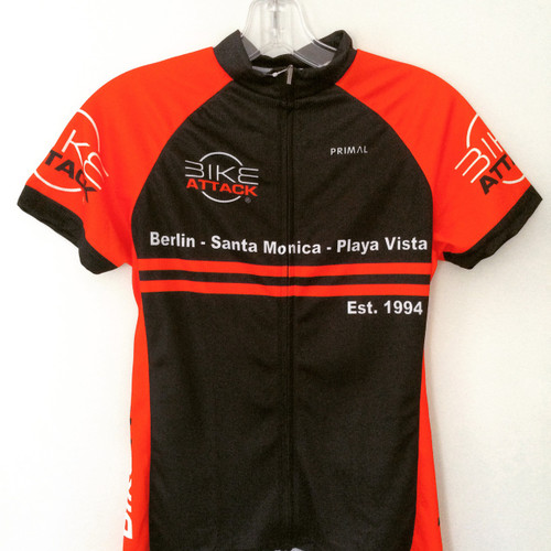 Bike Attack | Custom Cycling Shop Jersey | Black