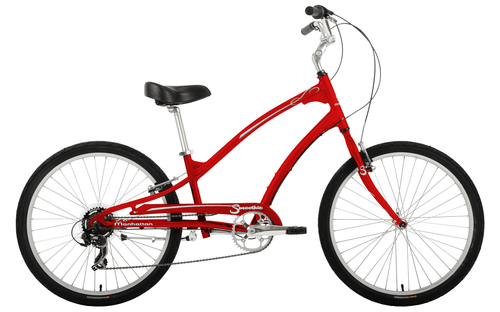 Manhattan Cruisers | Smoothie 7 Mens | Cruiser | Red