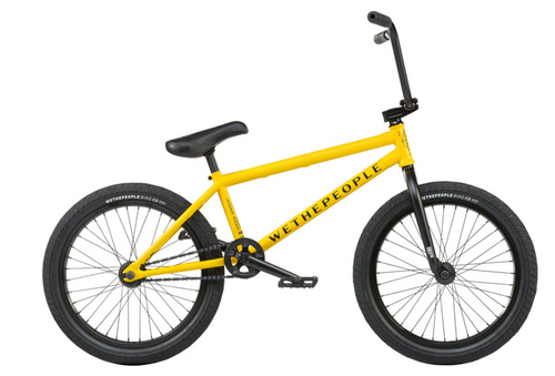 WeThePeople | Justice | BMX Bike | Taxi Yellow
