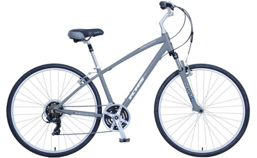 KHS | Westwood | Urban City Bike | Audi Gray